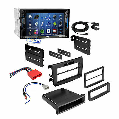 jvc double din dvd cd player car radio install mount kit harness jvc car radio stereo double din dash kit wiring harness for 2007 09 mazda cx
