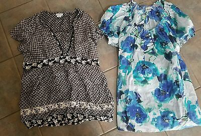xl 14 16 maternity top lot. summer short sleeve.  perfect condition