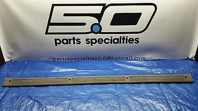87-93 Mustang convertible sill plate