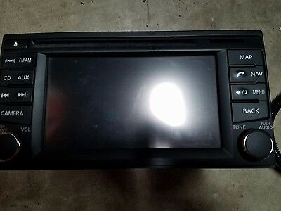 2014 nissan versa note factory stereo with navigation