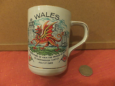 WALES Crown Clarence INVESTITURE July 1st 1969 MUG
