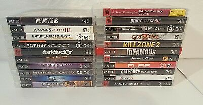 21 Sony Playstation 3 PS3 Game Lot Bundle. No Reserve! Great Titles, LOOK!