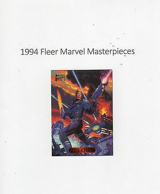 1994 Fleer Marvel Masterpieces Trading Card #92 Psi-Lord