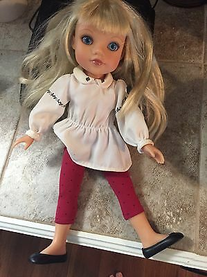 Hearts For Hearts Girls Lilian Doll From Belarus Playmates 2010  Retired Used
