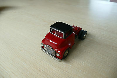 Vintage toy tin truck Japan 1960s red/black/green