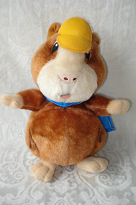 "2008 Nick Jr. The Wonder Pets ""linny"" 9.5"" Plush Hampster -Fisher Price / Mattel"