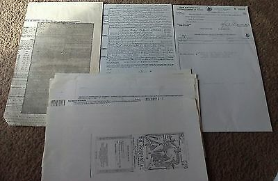 Rare Harry S. Truman Death Certificate, Insurance Policy Signed, Check to Bess +