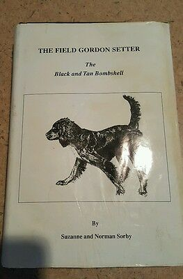The Field Gordon setter The Black and Tan Bombshell Sorby