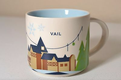 "Starbucks ""You Are Here"" Coffee Mug - Vail"