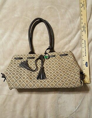 DB Dooney and Bourke purse Shoulder Bag tan and brown