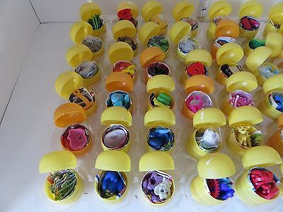Lot Of 50 Kinder Eggs Toys Only In Shell Fun For Kids No Chocolate