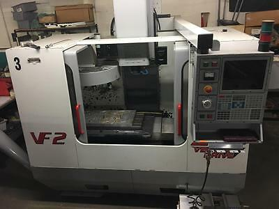 2000 Haas VF-2 CNC Vertical Machining Center Mill 7500 RPM Rigid 4th