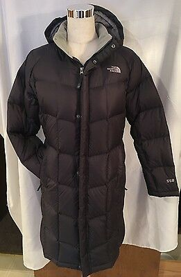 The North Face Girls XL Down Parka Jacket EUC Grey