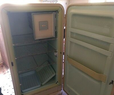 Retro vintage fridge