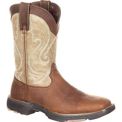 Durango Women's Ultra Lite Brown Western Square Toe Cowgirl Boots DRD0182