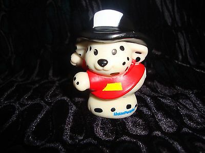 Fisher Price Little People - Fire Hall Dog - Dalmatian