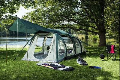 NEUMAYER INFLATABLE Family/Group 4-Person Camping Tent - Model DISCOVERY II