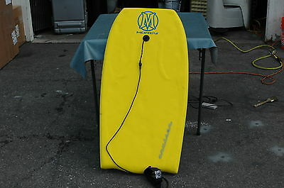 pre-owned Morey Cruiser Bodyboard yellow & blue
