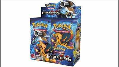Pokemon TCG XY Evolutions Booster Box Sealed 36 Packs AUS Stock FREE Postage