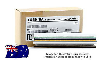 Genuine New TEC Toshiba B-SX5T SX5 Thermal Printhead 300DPI 7FM01641100 OEM