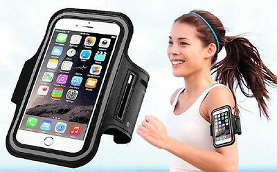 iPhone 6 6S & Samsung Galaxy S3 S4 S5 S6 S7 Armband Case Gym Jogging Running
