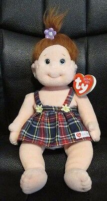 Ty Beanie Kids Ginger Doll 11 Inches Tall - Complete With Tags