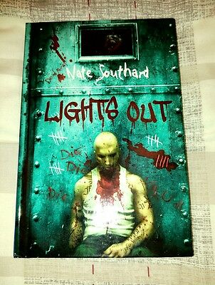 Lights Out by Nate Southard (Signed HC Thunderstorm Books)