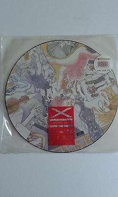 "TWELFTH NIGHT – SHAME 12"" Picture Disc UK  CBY 424 12"
