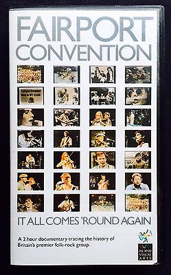 Fairport Convention - 'It All Comes Round Again' 1987 VHS Video