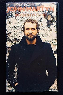 Rare Original John Martyn - 'In Vision 1973 - 1981' BBC VHS Video