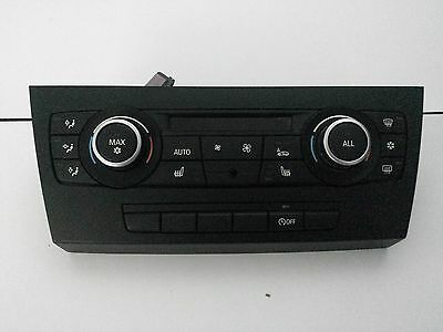 BMW 3 Series - Heater Controls Panel Climate Control Heated Seats 6411 9250393