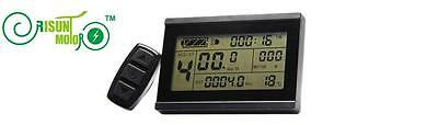 Risunmotor 24-72V KT LCD3 Display Meter/Control Panel Ebike Electric Bicycle