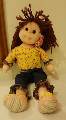 Retired TY Beanie Bopper Doll Loveable Lulu  New with tags