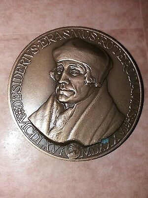 Erasmus  Medal - Awarded To Allied Veterans Only  - Holland - 1984