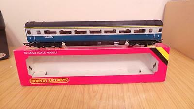 D60:  Hornby 'OO' Gauge R428 BR MK3 First Class Coach (Exc / Boxed)