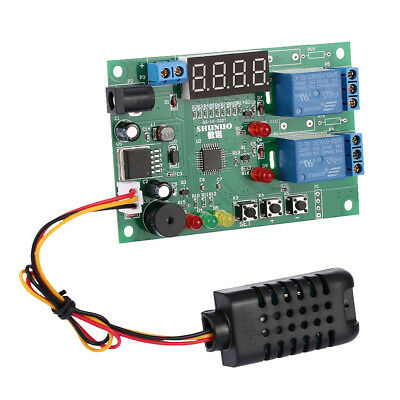 Greenhouse Temperature Humidity Controller Board Module Relay LED Indicator