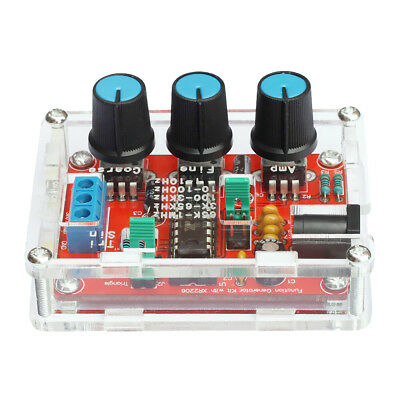DDS Function Signal Generator Counter Kit Sine Triangle Square Wave 1HZ-1MHZ