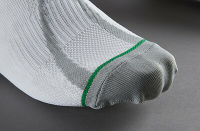 1000 Mile Mens Race Socks White/Grey Size M, L, XL Running, Athletics