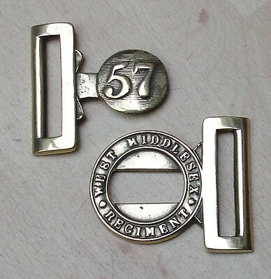 57th West Middlesex Regiment belt buckle