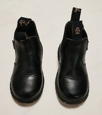 Grosby Kids Shoe Ranch Style / Riding Pull On Boots Size Aus6