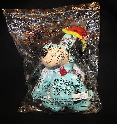 """NIP 2000 DQ 6"""" Plush Huckleberry Hound Character for Pop Up Tent"""