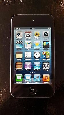 Apple iPod touch 4th Generation (Late 2010) Black (8GB) (003)