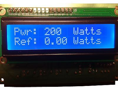 LCD RF POWER METER with SWR Protection