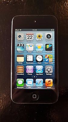 Apple iPod touch 4th Generation (Late 2010) Black (8GB) (004)