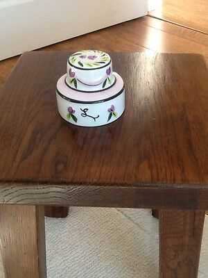 Lorna Bailey Wedding Cake Signed Piece  In Mint Condition