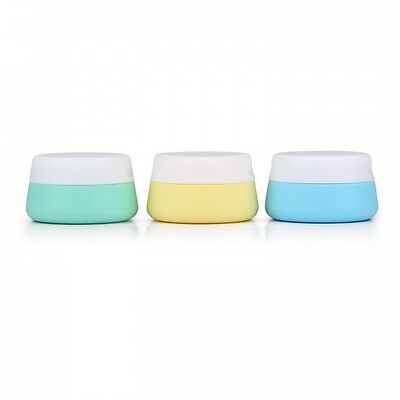 Soft Silicone Travel Containers - Set of 3 (25ml)