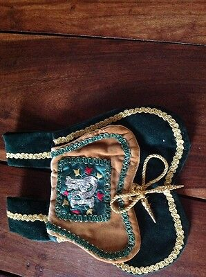 Medieval Styled Pouch To Wear On A Belt
