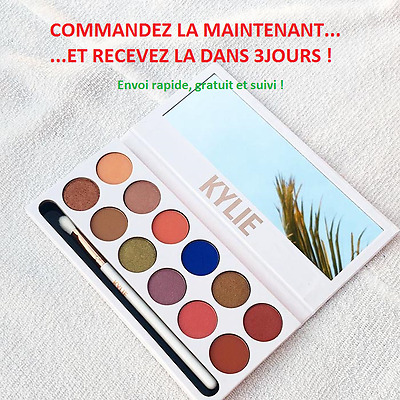 The ROYAL PEACH PALETTE Kylie Jenner eyeshadow limité