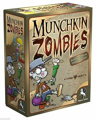 Munchkin Zombies 1 & 2 (Basic game and first Extension)