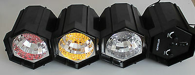Disco Lights Low Voltage 14 - 15 Volts Sequence Flash And Flash To Sounds Built